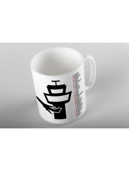 Coffee Mug ICAO Alphabet