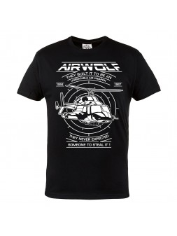 T-shirt Airwolf