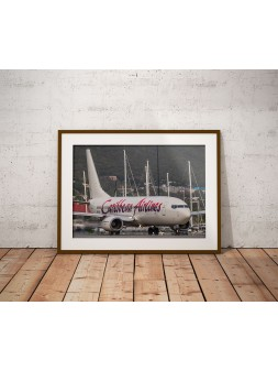 Poster Caribbean Airlines...